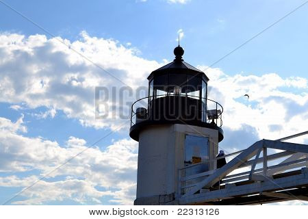 Marshall Point Lighthouse, Maine, USA-2
