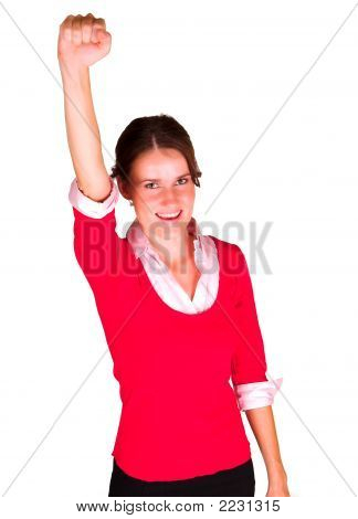 Lady Rejoicing