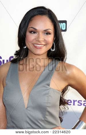 LOS ANGELES - AUG 1:  Karen Olivo arriving at the NBC TCA Summer 2011 All Star Party at SLS Hotel on August 1, 2011 in Los Angeles, CA