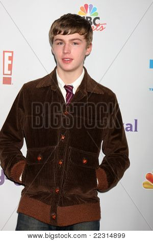 LOS ANGELES - AUG 1:  Miles Heizer arriving at the NBC TCA Summer 2011 All Star Party at SLS Hotel on August 1, 2011 in Los Angeles, CA