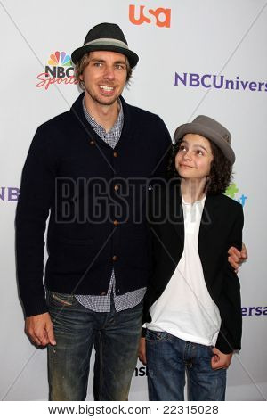 LOS ANGELES - AUG 1:  Max Burkholder, Dax Shepard arriving at the NBC TCA Summer 2011 All Star Party at SLS Hotel on August 1, 2011 in Los Angeles, CA