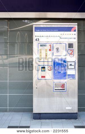 Train Ticket Dispenser