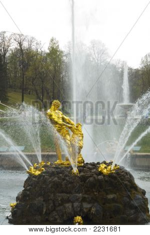 Samson In Peterhof