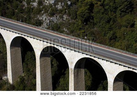 Bridge In The Mountains