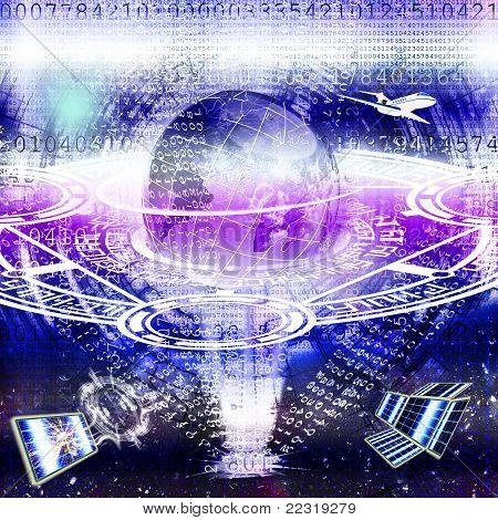 Tecnologia cósmica de notícias