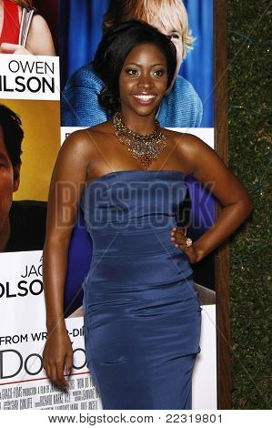 LOS ANGELES, CA - DEC 13: Teyonah Parris at the world premiere of 'How Do You Know' held at the Regency Village Theater on December 13, 2010 in Los Angeles, California