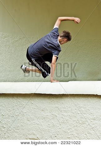 Youth Parkour Tricking