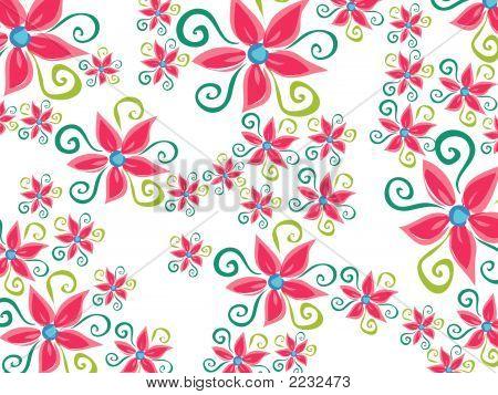 Vector Art | Free Clip Art | Floral Pattern Wallpaper Vectors