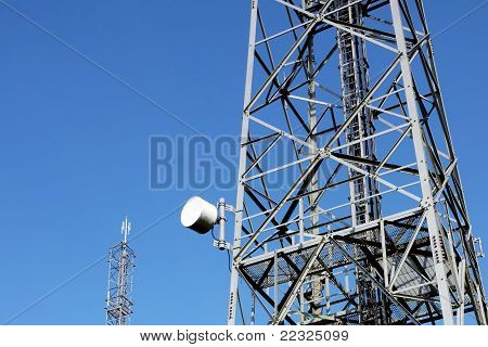 Communication towers and antenna.