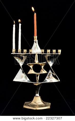 Hanukkah Jewish Holiday Day Two