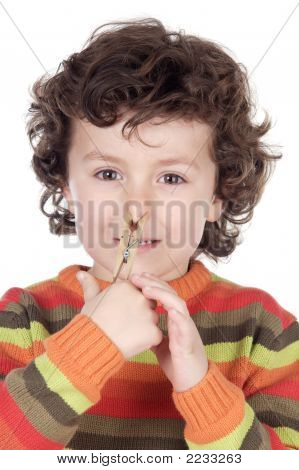 Kid With Peg