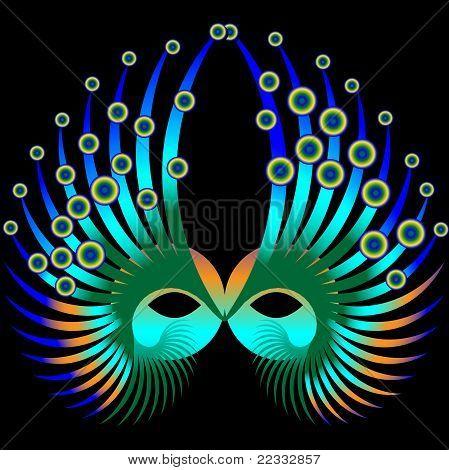 Mardi Gras Maske
