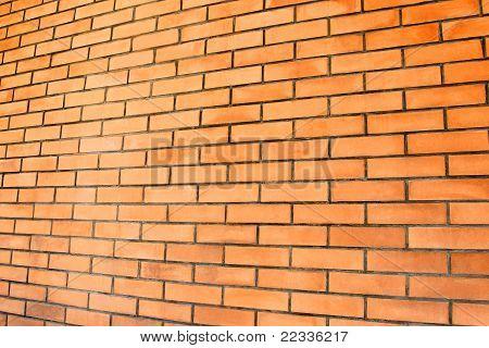 Una pared de ladrillos