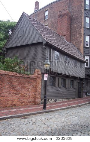 Paul Revere House, Boston, Ma