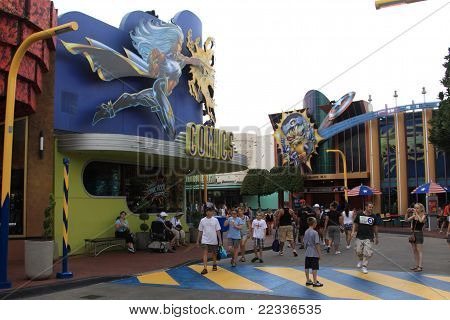 Universal's Island Of Adventure In Orlando, Florida