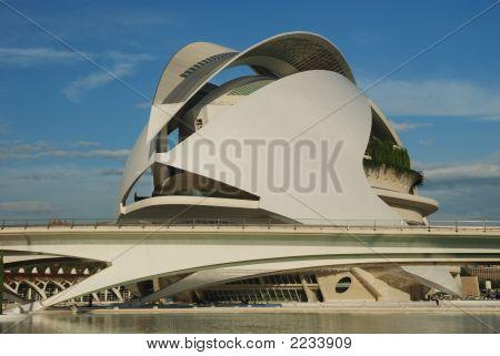 El Palau De Les Arts Reina SofíA In Valencia, Spain