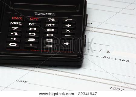Calculator And Checks