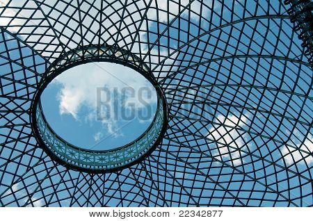 Lattice dome.