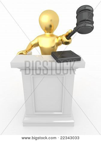 Men With Gavel