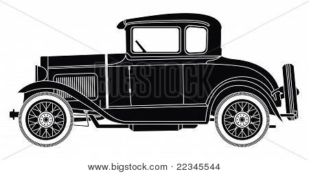 Cutout 1930 Ford Model