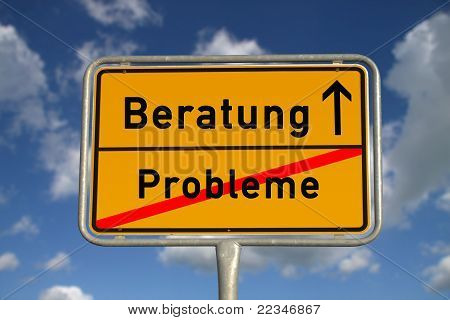 German Road Sign Problems And  Consultation