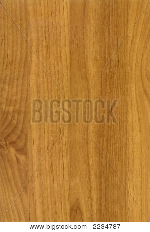 Close-Up Wooden Hq (Light Alder) Texture To Background