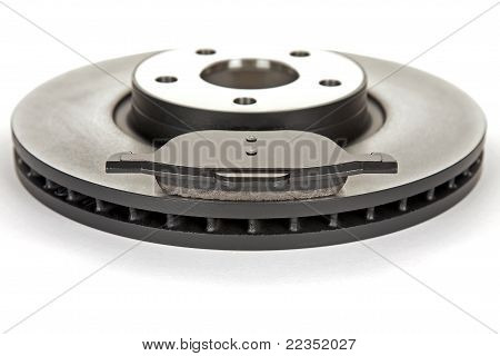 Brake Disc And Brake Pad