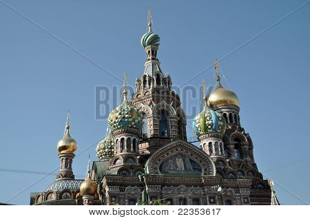 Domes - Church of Resurrection