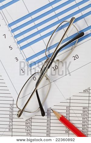 Glasses and Spreadsheet