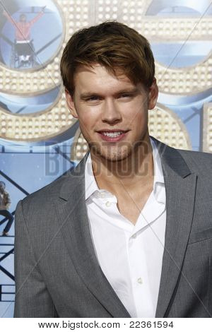 LOS ANGELES - AUG 6: Chord Overstreet at the premiere of Twentieth Century Fox's 'Glee The 3D Concert Movie' held at the Regency Village Theater on August 6, 2011 in Los Angeles, California
