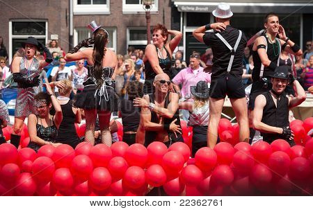 Amsterdam Canal Parade  2011