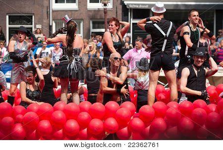 Amsterdam Canal Parade  2011