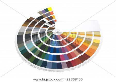 color chart / color fan