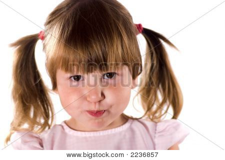 Girl With Funny Face