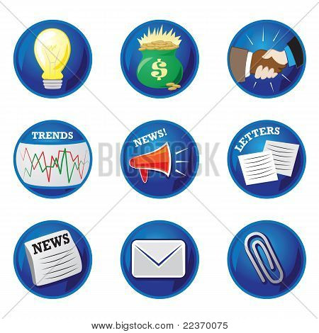 Business Icons/Buttons
