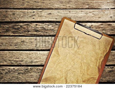 Board On Wooden