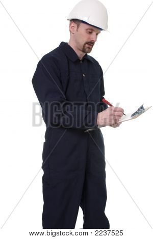 Inspector At Work