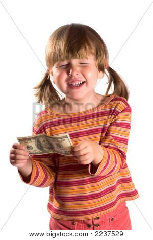 Girl And Her First Salary