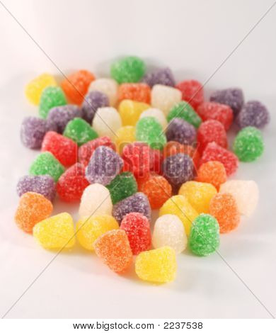 Gum Drops Isolated
