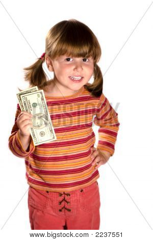 Girl And Twenty Bucks