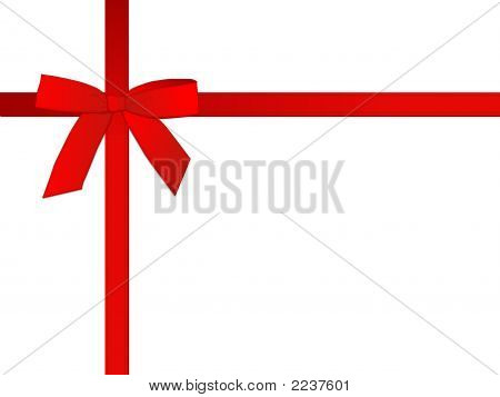 Red Gifts Bow