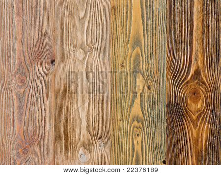 Wood Texture In Different Colors