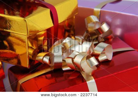 Colorful Christmas Presents