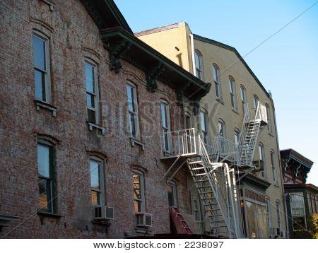 Old Brick Apartments; Lambertville, New Jersey
