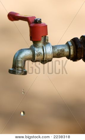 Tap With Droplets