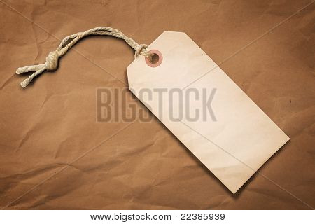 Blank Tag Label