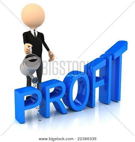 3d person raise profit