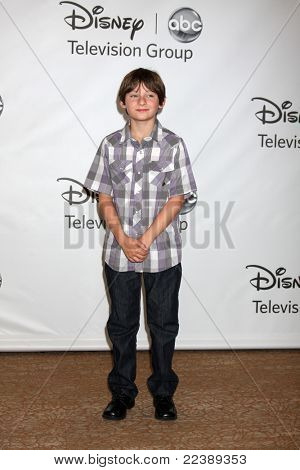 LOS ANGELES - AUG 7:  Jared Gilmore at the Disney/ABC Television Group Summer Press Tour at the Beverly Hilton Hotel on August 7, 2011 in Beverly Hills, CA