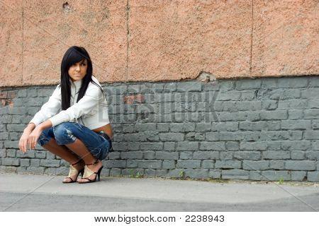 Teen In The Street