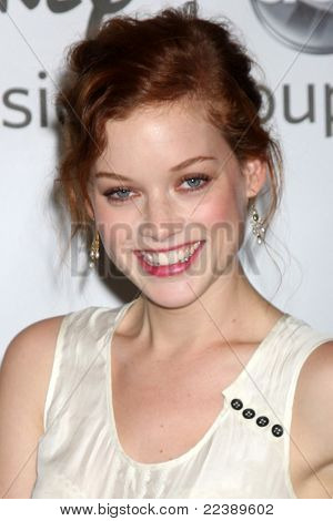 LOS ANGELES - AUG 7:  Jane Levy arriving at the Disney / ABC Television Group 2011 Summer Press Tour Party at Beverly Hilton Hotel on August 7, 2011 in Beverly Hills, CA